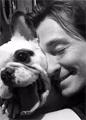 Сергей Безруков снимается в кино со своей собакой