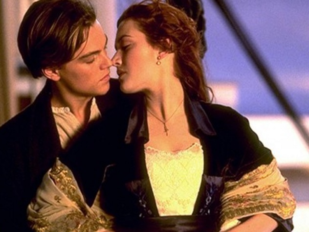 Поцелуй в «Титанике» стал лучшим за всю историю Голливуда