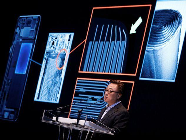 В Samsung назвали официальную причину взрывов Galaxy Note 7