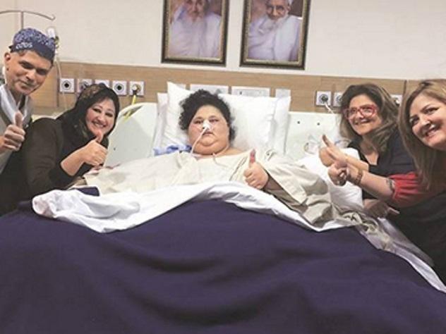 Самая толстая женщина вмире сбросила сто килограммов затри недели