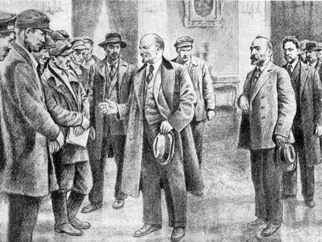 Почему апрельская речь Ленина ошеломила всех присутствующих