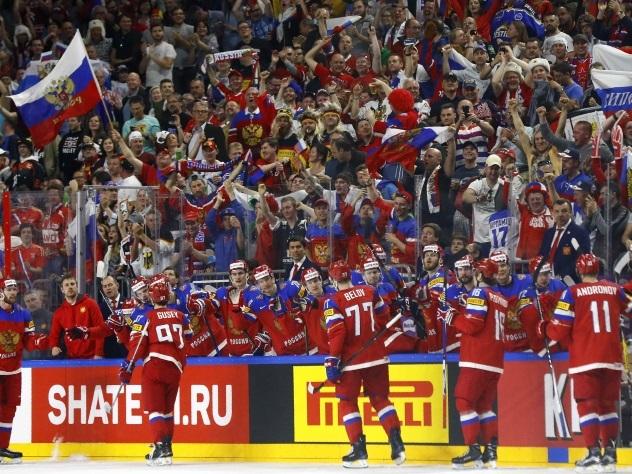 Российские хоккеисты побили рекорд сборной СССР 1964 года