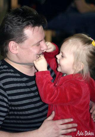 Андрей КНЯЗЕВ с дочкой от первого брака Дианой (Фото: stat8.blog.ru)