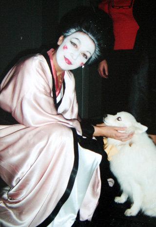 Татьяна в образе гейши в постановке «Дама с собачкой» вызвала восторг у жителей Страны восходящего солнца во время гастролей в Японии