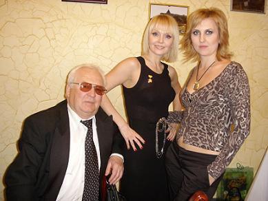 Валерия с отцом Юрием ПЕРФИЛОВЫМ и двоюродной сестрой Натальей ЗОТОВОЙ