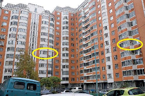 Дом на «Электрозаводской», где по соседству купили квартиры ХАБЕНСКИЙ (слева) и ПОРЕЧЕНКОВ