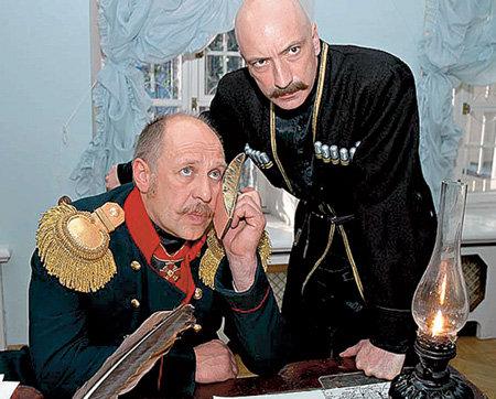 С Александром ФЕКЛИСТОВЫМ в исторической драме «Из пламя и огня…»