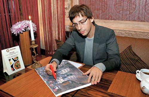 Максим впервые подробно описал планировку своих загородных владений (фото Руслана ВОРОНОГО)