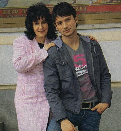 Сергей ЛАЗАРЕВ с мамой Валентиной