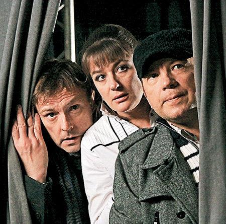 Лихая троица: адвокат Нилов, психоаналитик Мельникова и подполковник Ухов (ФЕДОРЦОВ)
