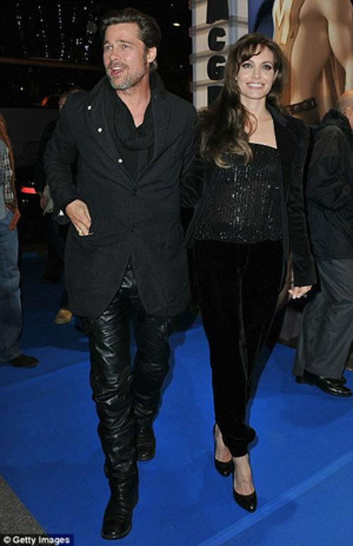 На вечеринке в честь фильма «Метромэн» Анджелина и Брэд подтвердили звание одних их самых стильных и красивых звезд Голливуда.
