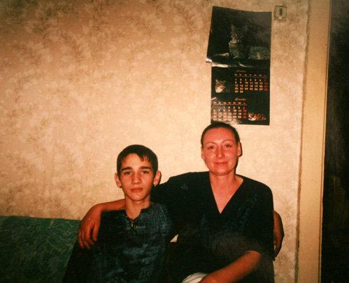 Сын Романа ТРАХТЕНБЕРГА Сергей с мамой