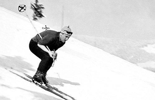 Первый мужчина Примадонны замечательно катался на лыжах