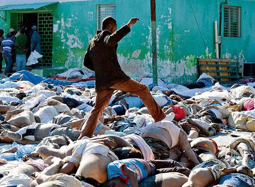 Остров Гаити уже завален трупами. А через пару месяцев там умрет каждый 20-й житель