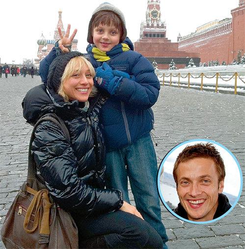 Дарья с сыном и мужем перебралась из теплого Окленда в заснеженную Москву