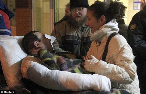 По данным МЧС, пострадали 168 человек. Фото: Daily Mail