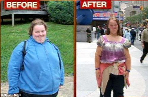 В 2009 году Джорджии удалось существенно похудеть в специальном лагере. Но вес снова вернулся