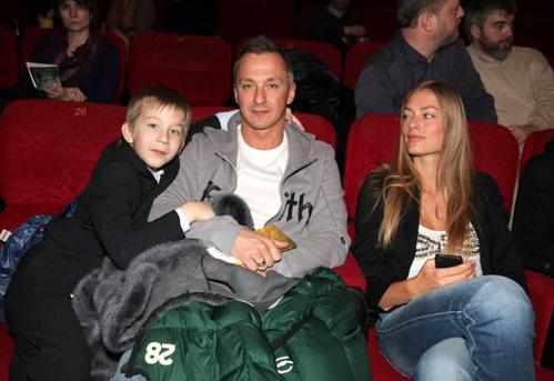 Степан МИХАЛКОВ с женой и сыном