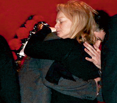Лариса ДОЛИНА поддерживала Гошу, сына певца