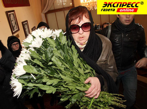 Дочь Людмилы ГУРЧЕНКО Мария КОРОЛЁВА (фото Бориса КУДРЯВОВА)