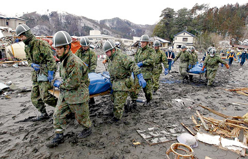 Те, кто не умер во время цунами, будут медленно угасать от радиации