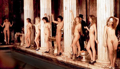 Бесовский шабаш снимался в Сандуновских банях, где девушкам нечего стесняться