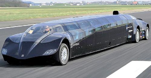 Скорость монстра до 273 км/ч