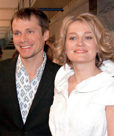 Актриса с бывшим супругом Андреем