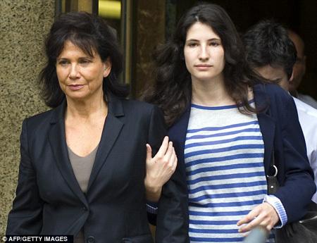 На процессе присутствовали жена и дочь экс-главы МВФ