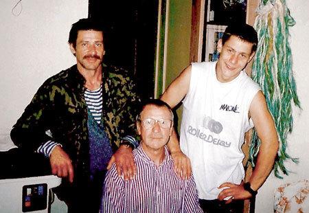 Три поколения КРАСКО: сын Андрей, отец Иван и внук Ян-Анджей