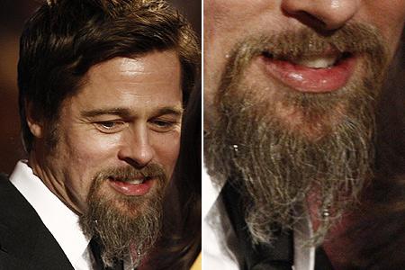 Пару лет назад Брэд ПИТТ обзавелся козлиной бородкой и никак не спешил с ней расставаться.