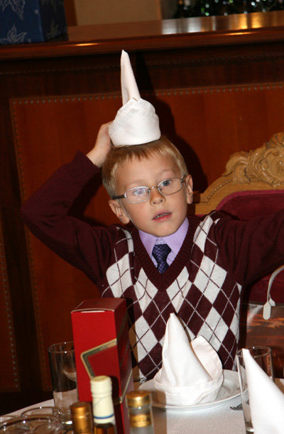 Младший сын актёра - Фёдор