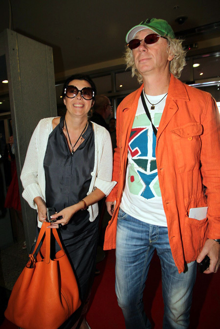Аркадий УКУПНИК с женой Натальей (фото Бориса КУДРЯВОВА)