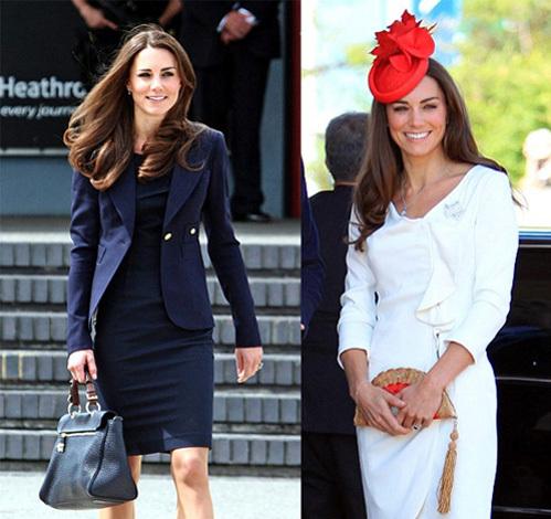 Гуру моды раскритиковали стиль Кейт, назвав его слишком скучным (фото Daily Mail)