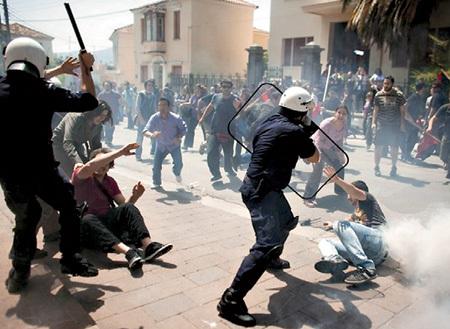 Классовая война в Афинах