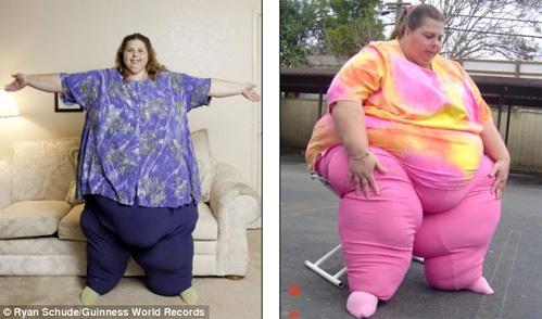 Самая толстая сексуальная женщина в мире