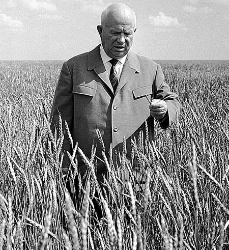 Освоение целинных земель. 1954 - 1960