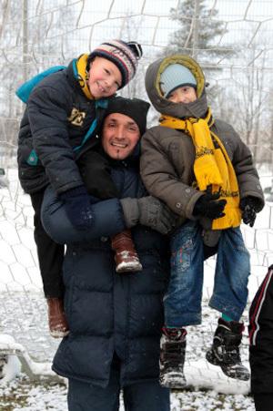 У Лучано уже есть двое сыновей, но ему всё мало