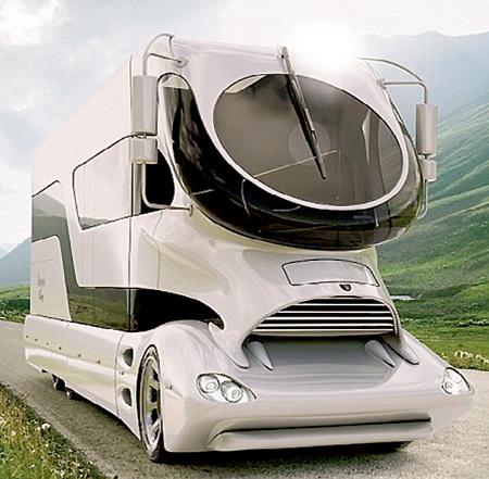 Футуристический дизайн сильно экономит топливо