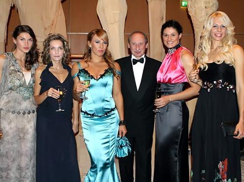Россиянки выглядели сногсшибательно на гала вечере в Монако. Фото rusathletics.com