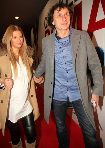 Вадим ГАЛЫГИН с женой (фото Бориса КУДРЯВОВА)