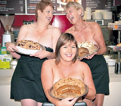 Дамочки из отдела выпечки показались особенно сладкими