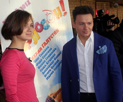 Александр ОЛЕШКО с подругой