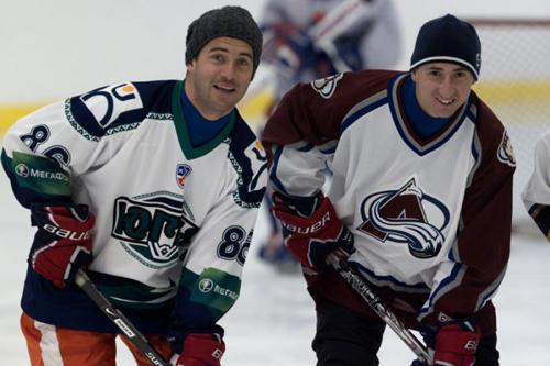 Футболисты «Зенита» сыграли в хоккей.  Фото: «РИА Новости»