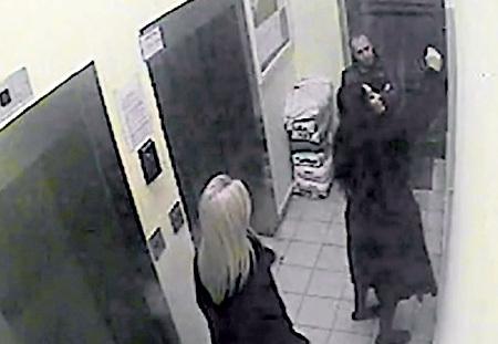 Съемка скрытой камерой: МИЛЯВСКУЮ довели до ручки - она хулиганит в подъезде