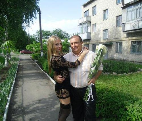 С отцом (Фото: vk.com)