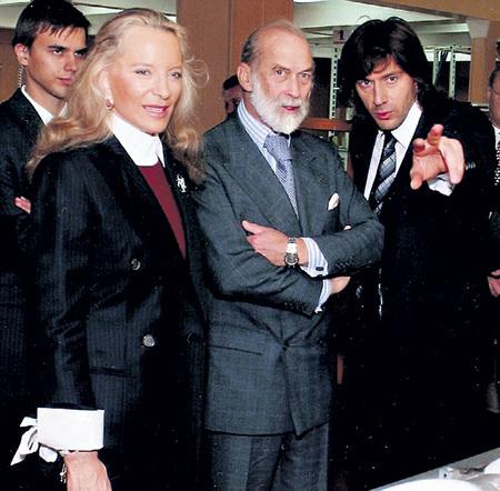 В Москве Михаил КРАВЧЕНКО показал принцу и принцессе Майкл Кентской, каким он видит будущее российско-британских отношений
