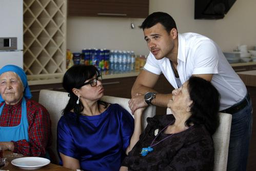 Эмин АГАЛАРОВ с бабушкой Эмин-Ханум