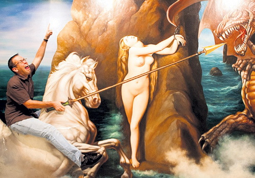 Спасти голую деву, построить подчинённых и посадить сына на теплое место - главные цели в жизни мужчины