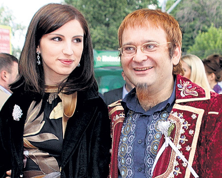 Роман женился на Вере МОРОЗ незадолго до смерти